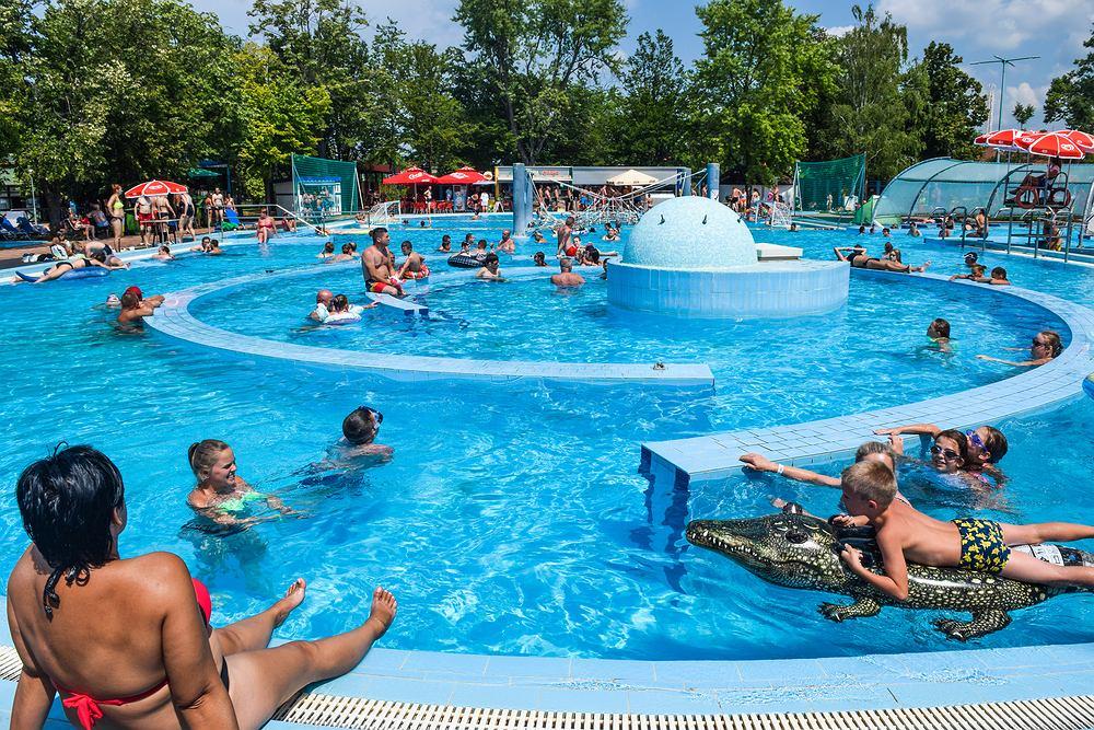 Hajduszoboszlo to popularny wakacyjny kierunek. Zdjęcie ilustracyjne