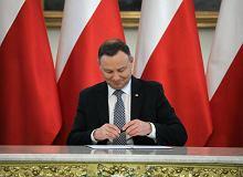 Prezydent Duda podpisał 'ustawę górniczą'. Do 2023 r. pieniądze z kasy państwa na restrukturyzację kopalń