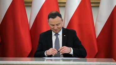 Prezydent Andrzej Duda podpisał ustawę dotyczącą cen prądu