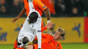 Frenkie de Jong w meczu z Francją