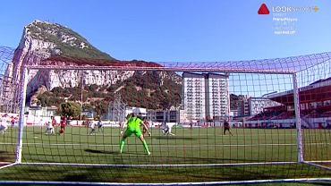 Krajobraz z meczu Lincoln Red Imps - CFR Cluj