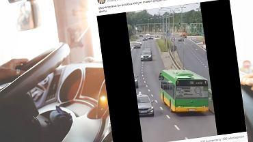 Kierowczyni MPK w Poznaniu wjechała pod prąd na trzypasmową drogę. Konsekwencje? Otrzyma naganę