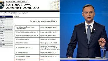 """Andrzej Duda """"blokuje etat""""?"""