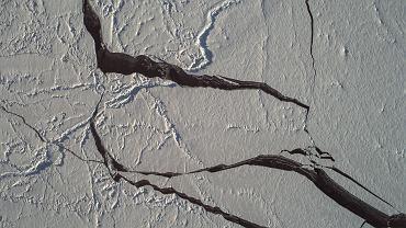 Topniejąca pokrywa lodowa na Oceanie Arktycznym