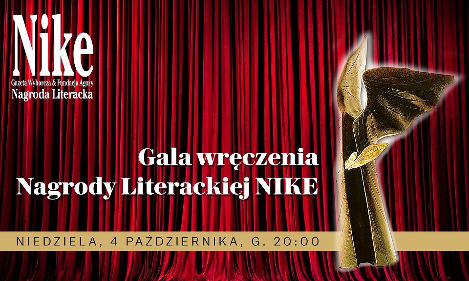 Zdjęcie numer 1 w galerii - Gala Nike 2020. Dla kogo najważniejsza polska nagroda literacka?