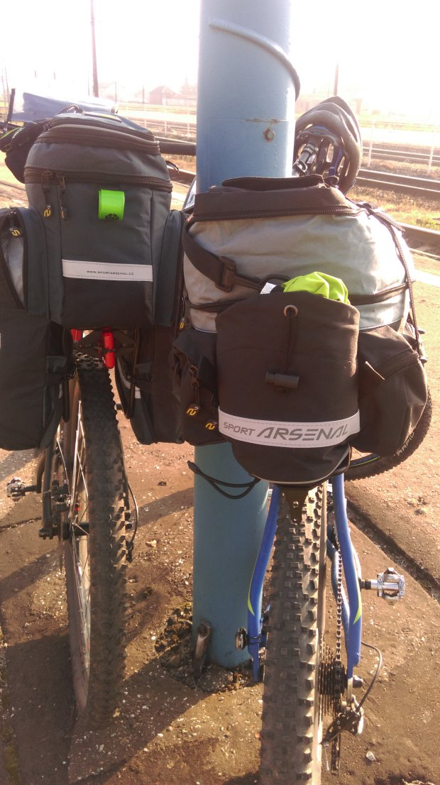 bagaż rowerowy