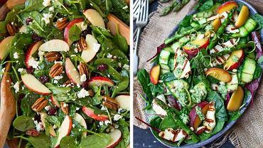 Lekka sałatka to doskonały pomysł na lunch, obiad lub kolację.