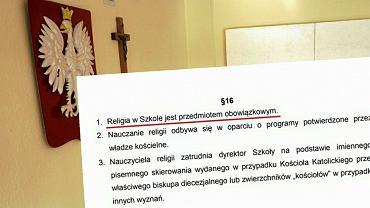 W statucie szkoły w Tulcach w Wielkopolsce znalazł się zapis 'Religia w szkole jest przedmiotem obowiązkowym'