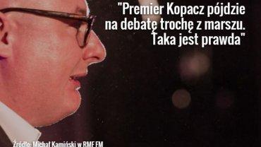 Michał Kamiński w RMF FM