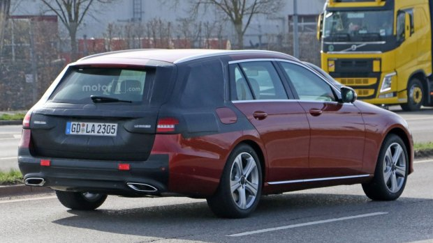 Prototypy   Mercedes klasy E kombi już 6 czerwca