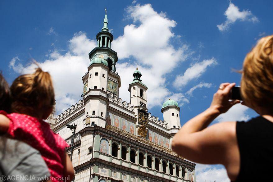 Ratusz w Poznaniu. 28 i 29 kwietnia atrakcje Poznania będą połowę tańsze