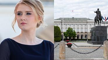 Kinga Duda zamieszkała w Pałacu Prezydenckim