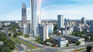 Tak ma wyglądać Warsaw Spire