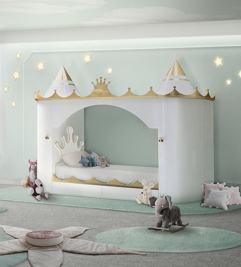 Łóżko dziecięce dla dziwczynki