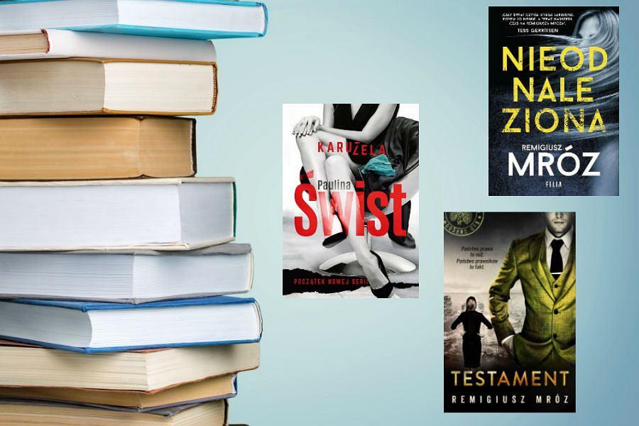 Kolaż / Bestsellery 2018 / Materiały partnerów