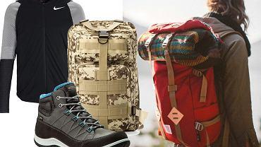 Buty trekkingowe, plecaki, kurtki i wiele innych