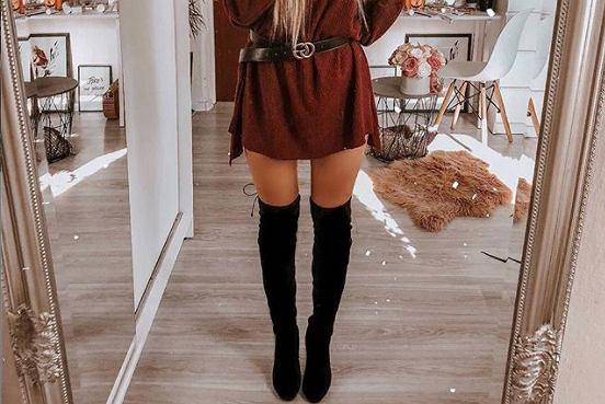 Trendy 2019. Kozaki za kolano to hit na zimę! Jak je nosić, by nie wyglądać wulgarnie?