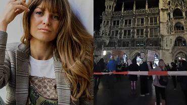 Anna Lewandowska wzięła udział w ulicznym proteście kobiet. Pokazała, jak to wyglądało w Monachium