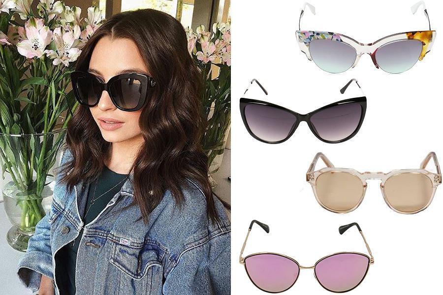 Kolaż,okulary przeciwsłoneczne/Materiał partnera