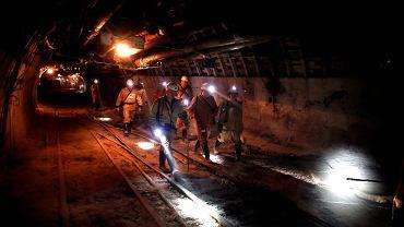 Górnicy w kopalni (zdjęcie ilustracyjne)
