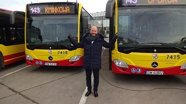 Konferencja ws. MPK Wrocław. Jacek Sutryk