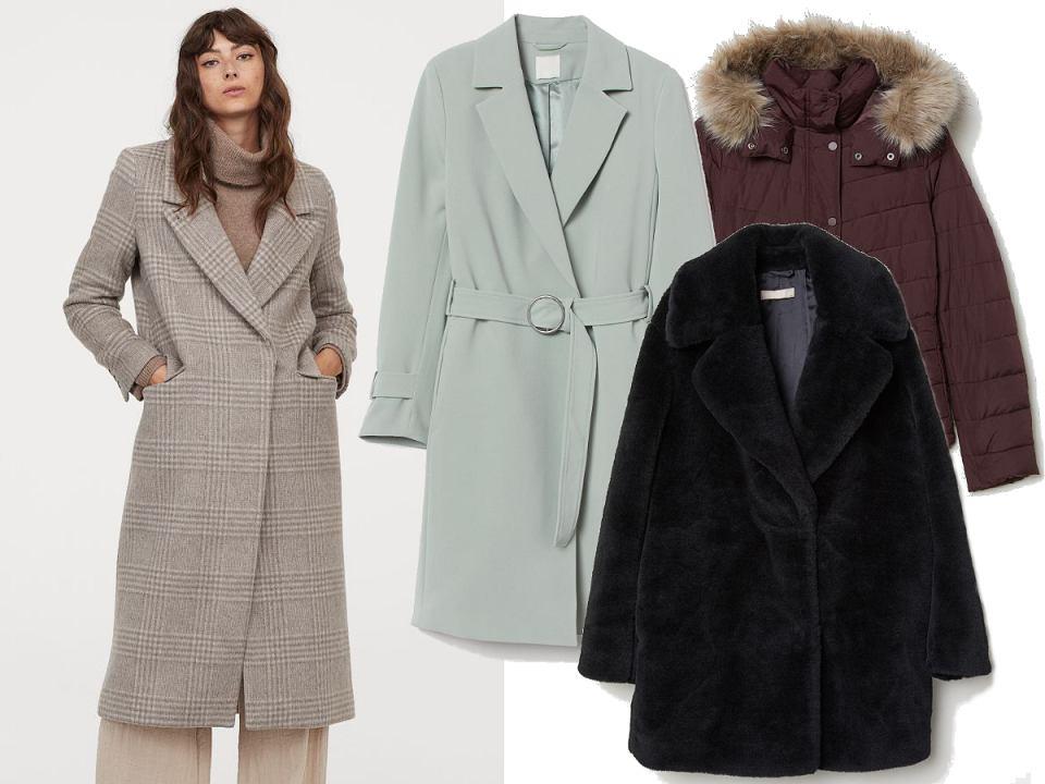 H&M kurtki i płaszcze wyprzedaż
