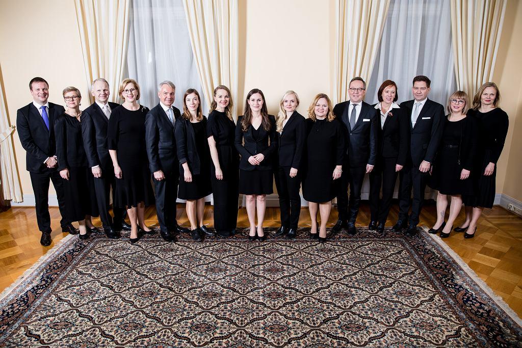 Nowy skład fińskiego rządu