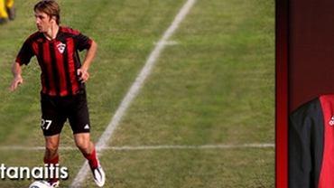 Marius Stanaitis w barwach FK Tauras