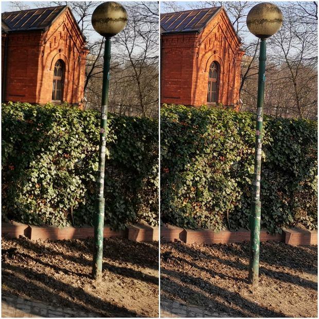 Po lewej stronie zdjęcie bez AI Ultra Clarity. Po prawej zdjęcie z AI Ultra Clarity