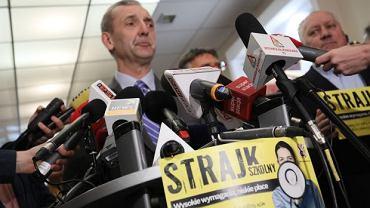 Szef ZNP, Sławomir Broniarz ogłosił, że strajk nauczycieli zacznie się 8 kwietnia