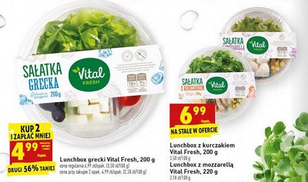 Lunchbox. Gazetka promocyjna Biedronka, fot. www.biedronka.pl