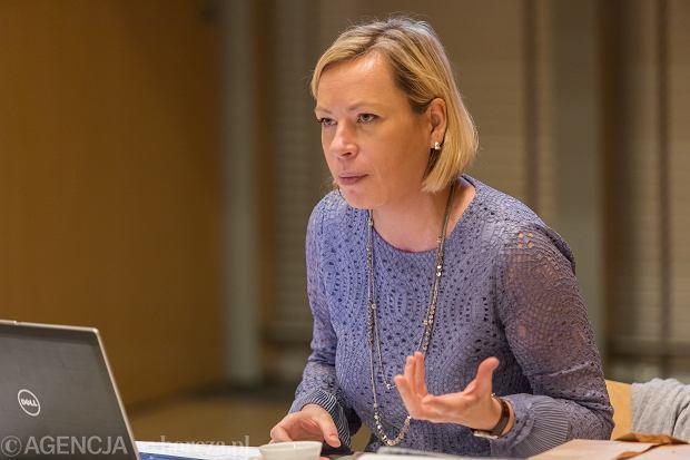 Anna Janowicz, szefowa projektu 'Lokalny Wolontariat Opiekuńczy', prezeska Fundacji Hospicyjnej w Gdańsku