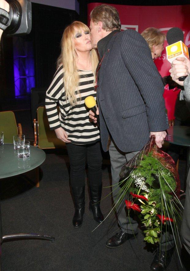 Maryla Rodowicz i Daniel Olbrychski