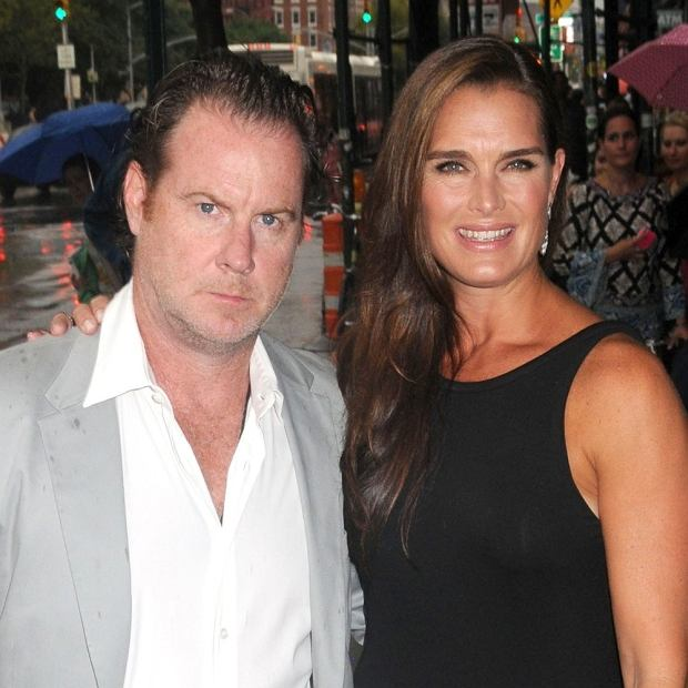 """Celebrity guests arrive street side for the New York premiere of the new film """"Bachelorette"""", held at the Landmark Sunshine Theatre in NYC.  Pictured: Chris Henchy and Brooke Shields"""