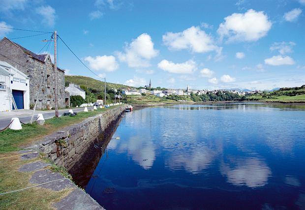 Irlandia, miasteczko Clifden w hrabstwie Galway