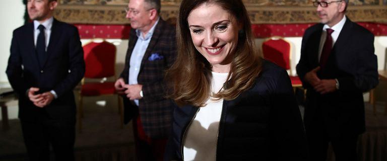 Joanna Mucha wycofuje się ze startu na szefa PO