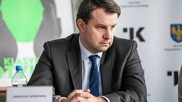 Prezydent Arkadiusz Wiśniewski