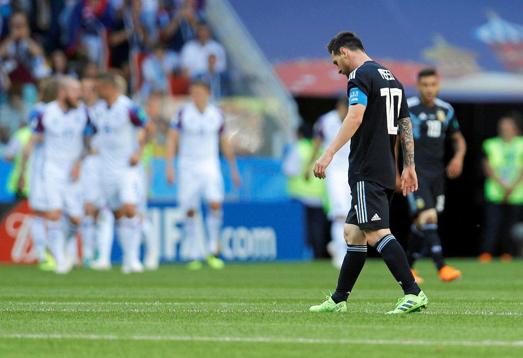 MŚ 2018. Lionel Messi w barwach Argentyny