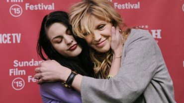 Frances Bean Cobain i Courtney Love