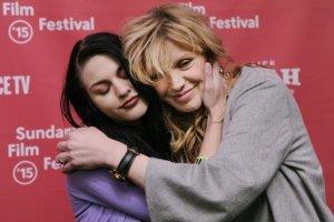 Frances Bean Cobain i Courtney Love