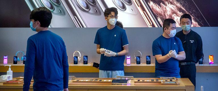 Koronawirus dewastuje biznes Apple'a i Huawei