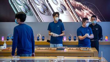 Apple ucierpi przez epidemię koronawirusa w Chinach.