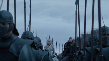 Kadr z materiałów zakulisowych 'Gry o tron'