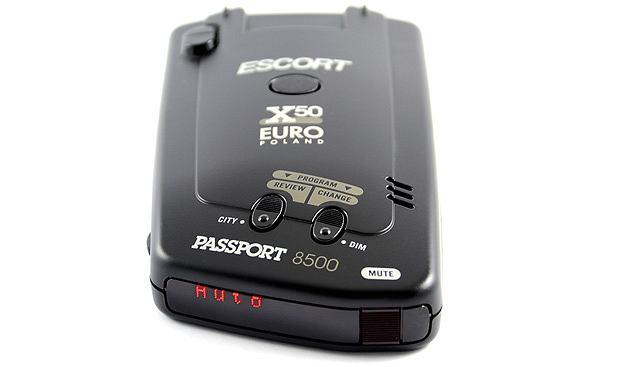 Testy: aplikacje antyradarowe, aplikacja, samochody, testy, Antyradar Escort Passport X50 EURO Black, Cena: 1950 zł