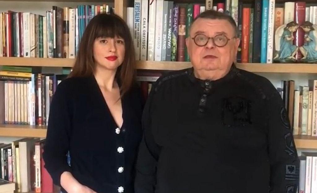 Anna Gacek i Wojciech Mann