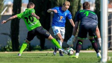 Lech Poznań - FK Ufa 1:1 podczas sparingu na Cyprze. Kamil Jóźwiak