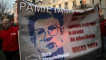 Jolanta Brzeska stała się symbolem ruchu lokatorskiego