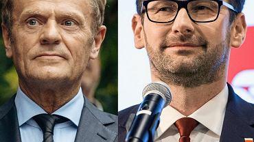 Donald Tusk i Daniel Obajtek