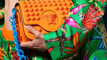 color blocking Versace SS2021
