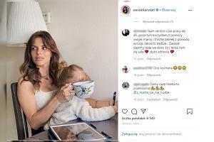 """Weronika Rosati oddaje hołd samotnym matkom. """"Nie wyobrażam sobie być teraz sama"""""""